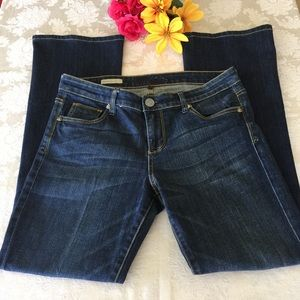 Kut From The Kloth Farrah Baby Bootcut Blue Jeans